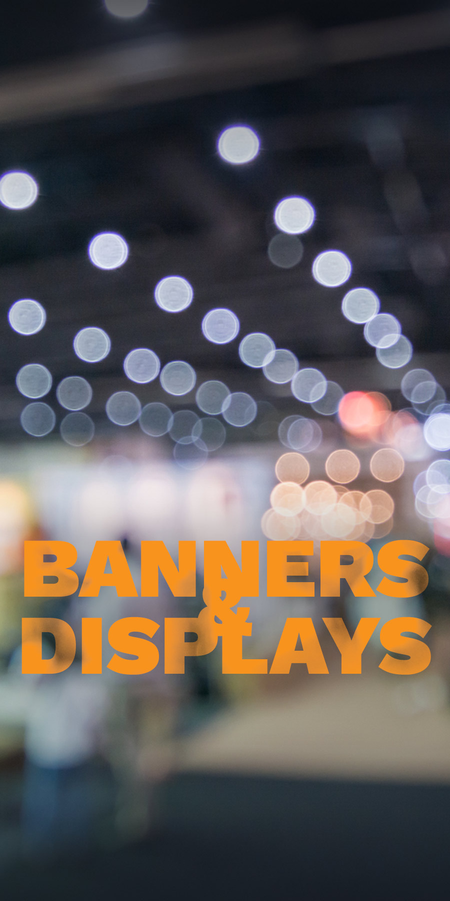 banners and displays