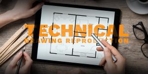 tech drawing header